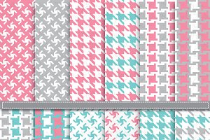 Geometric & Houndstooth DigitalPaper
