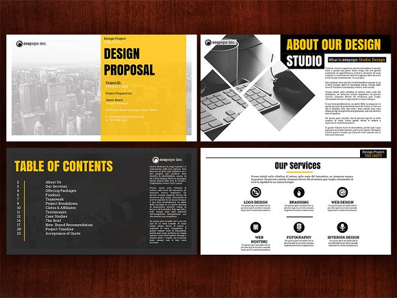 2k17 studio design proposal presentation templates creative market