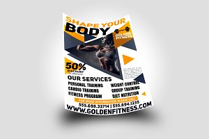 Fitness Flyer Template Sports Flyer