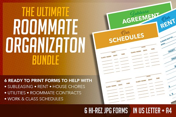ultimate shared space organization flyer templates creative market
