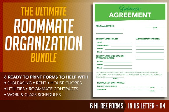 ultimate shared space organization flyer templates creative daddy