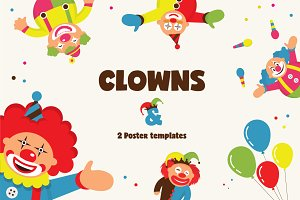 CLOWNS + posters