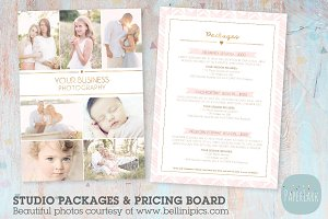 IP013 Photography Pricing Packages