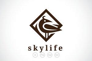Sky Life Logo Template