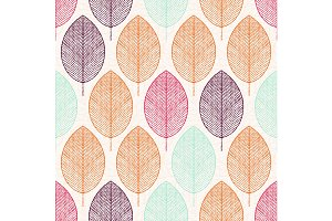 pattern. Geometric seamless vector background.