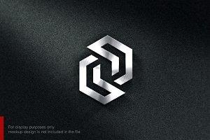 Letter Z S N Logo