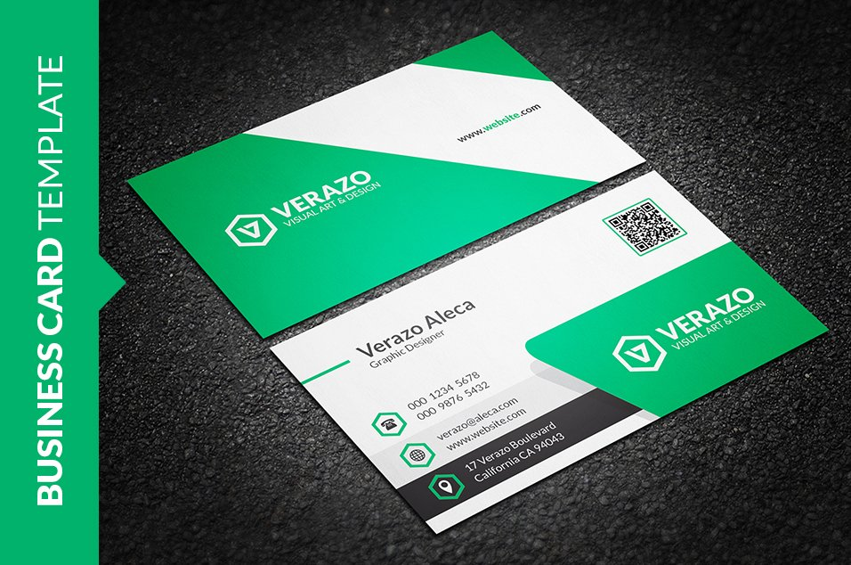 Creative Corporate Business Card ~ Business Card Templates ...