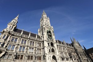 Town Hall in Marien Platz ,Munich
