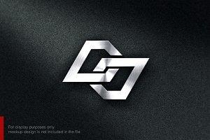 Letter D J Logo
