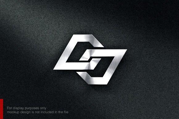 letter d j logo logo templates creative market