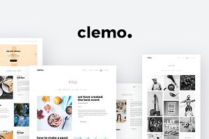 Clemo - Multipurpose PSD Template