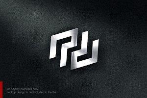 Letter P D Logo