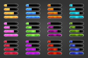 Game resource bar