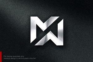 Letter M N Logo