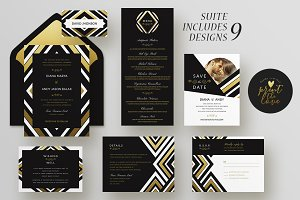 Wedding Invitation Suite - Diana