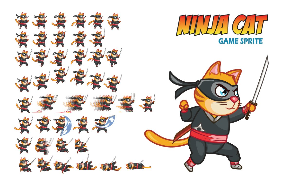 Sprite Sheets Free Cats