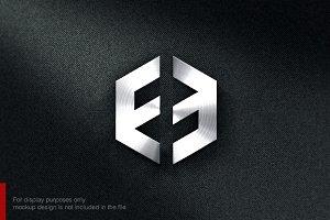 Letter F E Logo
