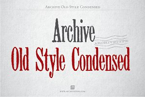 Archive Old Style Cond