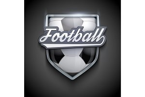 Premium symbols of Football Emblem