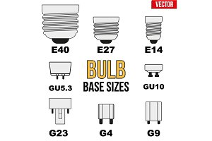 Technical draw of bulb