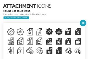 Attachment Icons