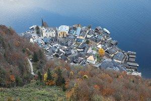 Top View of Hallstatt Austria