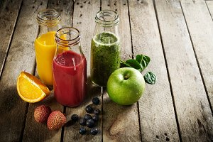 Healthy life,detox concept. Smoothie