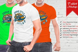 Mens Tshirt Mockup Vol-3.2