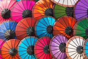 Laotian umbrellas