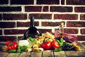 Healthy Food, Italian Food Concept