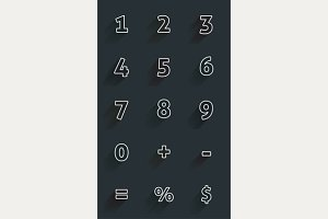 Calculator numbers