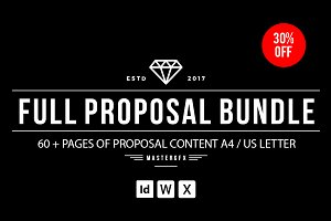 60+ Pages Bundle Proposal Pack -30%