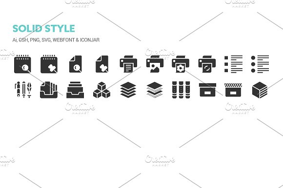 Basic Content Icons in Icons - product preview 8