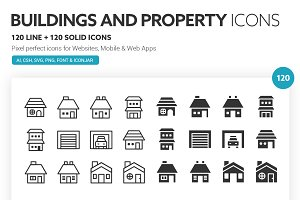 Buildings and Property Icons