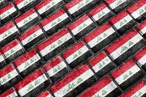 Irak Flag Pattern