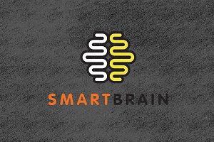 Smart Brain Logo Template