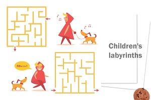 Сhildren's labyrinths