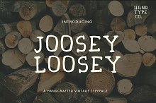 Joosey Loosey Font