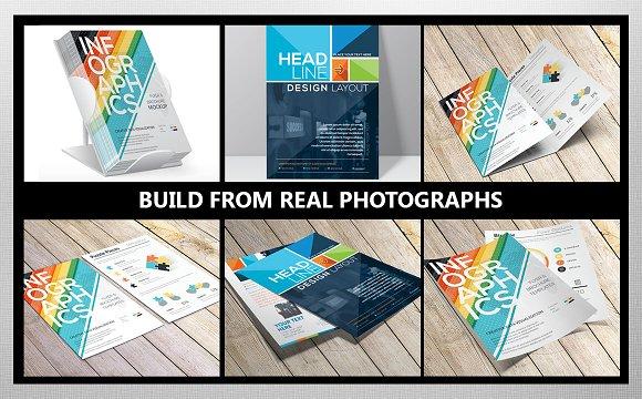 Flyer and Brochure Mockup