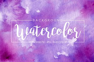REAL Watercolor Background