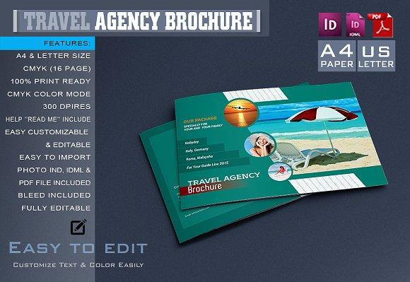 Travel agency brochure catalog brochure templates for Travel agency brochure template