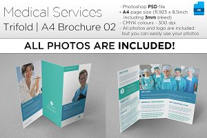 Medical A4 Trifold Brochure 02