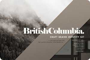 BC Stationary Brand Identity Set