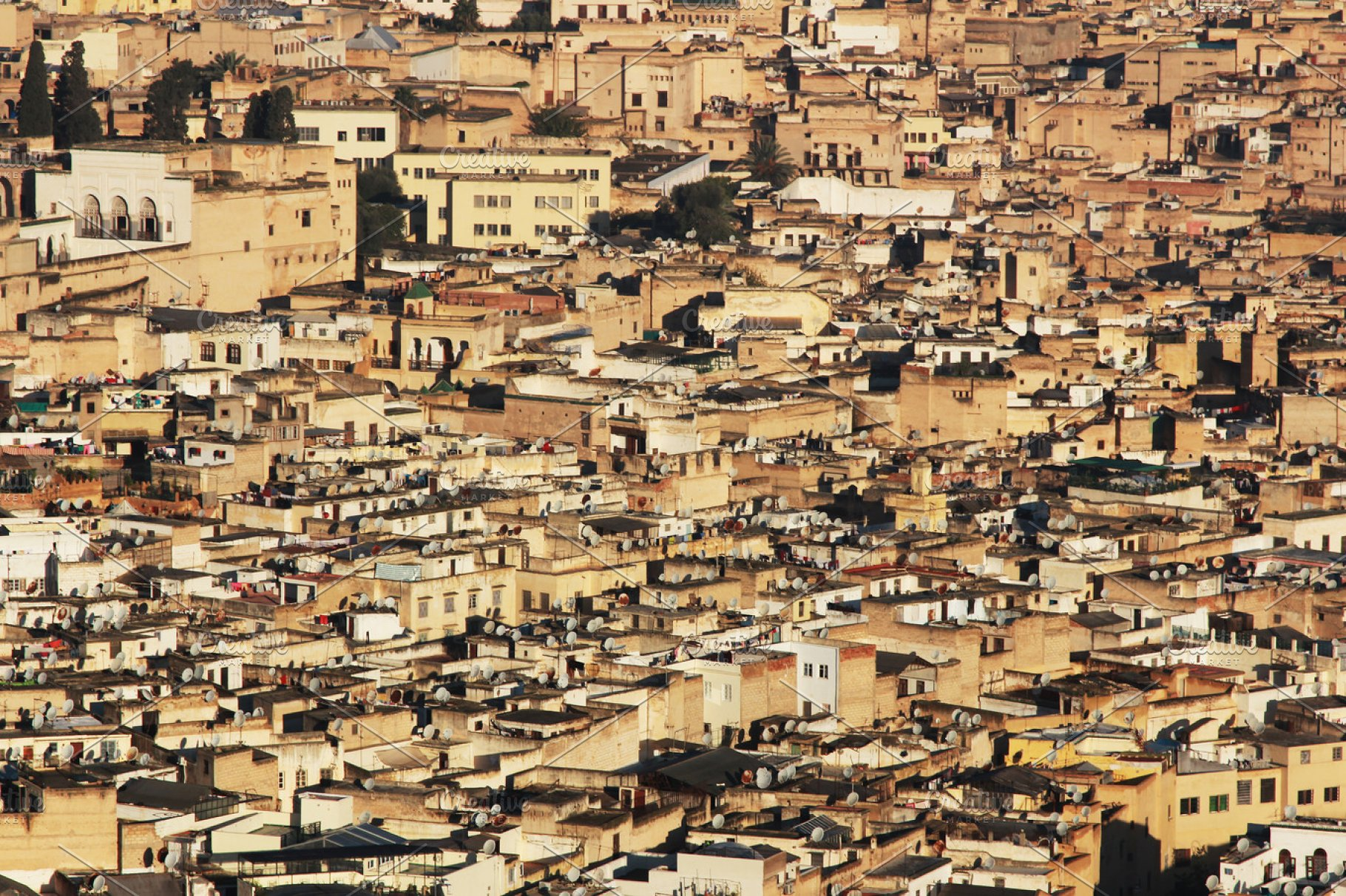View of Fez Morocco