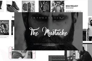The Mustache Presentation Powerpoint