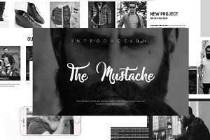 The Mustache Presentation Keynote