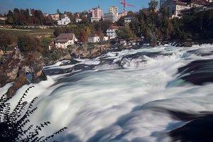 Rheinfall in Switzerland
