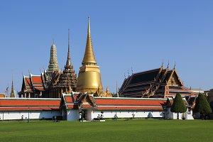 Wat Phra Kaew in Thailand