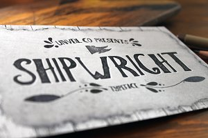 Shipwright Typeface