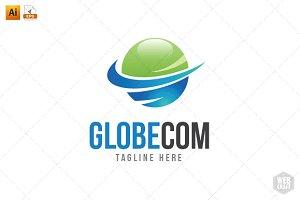 GlobeCom Logo Template